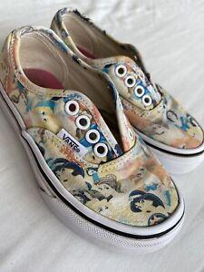 Vans Disney Princess Girl Pumps *No Laces* UK Kids Size 10