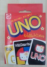 Vintage Sanrio Mattel  Hello Kitty Uno 1997 New old stock Great for a Gift.