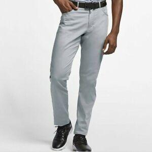 Nike Men's Slim Fit Flex, Dri-Fit 6 Pocket Golf Pants Brand New with Tags - Grey