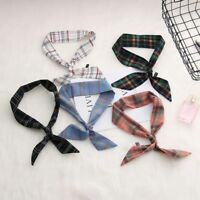 Fashion Neckwear Chic Little Silk Scarf Neckerchief Ribbon Hair Tie Band