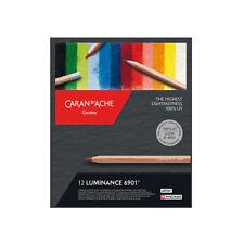 Caran d'Ache Luminance 6901 20 Crayons Boîte Haute Résistance 100% LFI