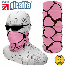 Giraffe-222 Multifunctional Headwear Neckwarmer Snood Scarf Bandana Headband