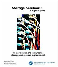 Storage Solutions  A Buyer s Guide