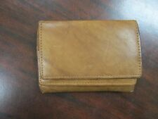 Leather 4-fold wallet - India - lots of storage