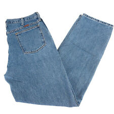 Rustler Blue Jeans 33 x 32 Stone Washed Cotton Regular Fit Straight Leg 87619SW