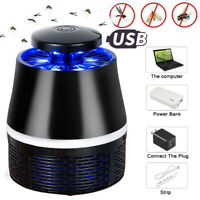 Electronic Anti-mosquito Killer Lamp Mosquito Fly Bug Pest Control UV Mute Lamp