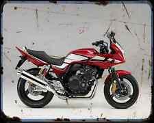 Honda Cb400 Bol Dor 10 A4 Metal Sign Motorbike Vintage Aged