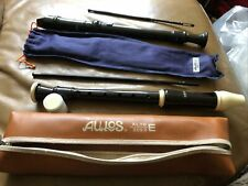More details for bin aulos alto 209b e and 303a-e recorder excellent condition.