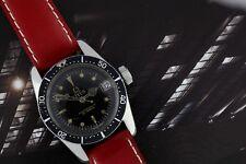 Vintage Titus Calypsomatic Automatic Diver Watch Gilt Dial Serviced