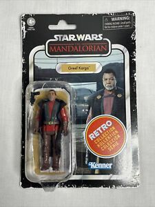Star Wars Greef Karga Retro Collection The Mandalorian Action Figure Brand New!