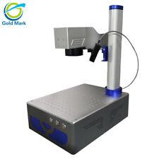 Auto focus 30W Raycus Fiber Laser Marking Machine for mfcolorado