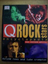 Q Magazine Encyclopedia of Rock Stars Dafydd Rees Luke Crampton Paperback New