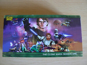 TOPPS STAR WARS CLONE WARS SEASON 1 WIDEVISION TRADING CARDS