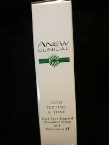 Avon Anew Clinical dark Spot targeted Serum - Even Texture  Tone NEW IN BOX 15ML