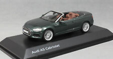Spark Audi A5 Cabriolet in Gotland Green 5011705333 1/43 NEW