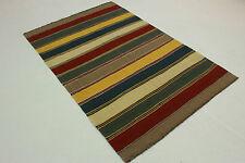 Original Persa Kelim Natural 250x170 rojo beige verde amarillo handmade 5011