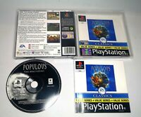 Populous: The Beginning Sony Playstation 1 PS1 PSX Game
