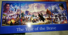 THE YEAR OF THE BRAVE 1 X 1000 2 X 500 PIECE JIGSAW TRYTICH BY STEVE CRISP