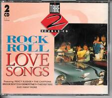 COFFRET 2 CD COMPIL 32 TITRES--ROCK & ROCK LOVE SONGS--SLEDGE/PITNEY/DRIFTERS...