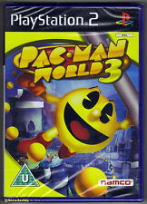 PS2 Pac-Man World 3 (2006), UK Pal, Brand New & Sony Factory Sealed