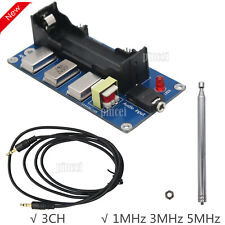 3-Channel AM Transmitter 1MHz 3MHz 5MHz Finished Board & Antenna & Audio Cable