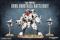 T'au Empire XV95 Ghostkeel Battlesuit SAME DAY SHIP Tau Warhammer 40k NEW