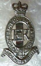 Badge- Royal Horse Artillery Cap Badge QC (Chrome) Slider