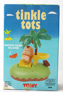 RARE VINTAGE 90'S TINKLE TOTS WATER SLIDE ISLAND 6006 TOMY NEW SEALED !