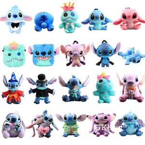 Lilo & Stitch Characters Plush Toy Angel Scrump Plushies Doll Stuffed Animal
