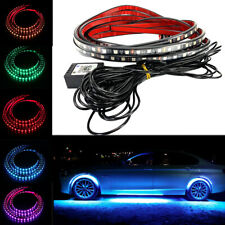 Clear Wireless Bluetooth Remote Under Glow Neon Light RGB LED Strip A H L Su JP