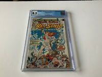 MARVEL FEATURE 4 CGC 8.5 RED SONJA COOL COVER MARVEL COMICS 1976