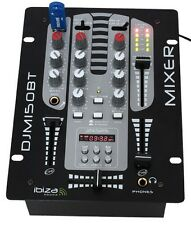 Occasion Ibiza Djm510usb-bt table de mixage 5 Pistes USB BT Mic
