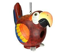 Red Parrot Gord-O Birdhouse by Songbird Essentials
