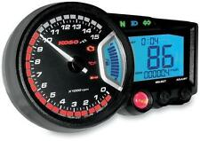KOSO BA010001 RX-2 GP STYLE SPEEDOMETER GAUGE RX2 TACHOMETER TACH 15000 RPM