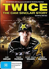 TWICE - The Cam Sinclair Story - MX/SX DVD (CLEARANCE PRICE)