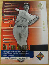 2004 SP AUTHENTIC ALL STAR MOMENT JOE DIMAGGIO /499