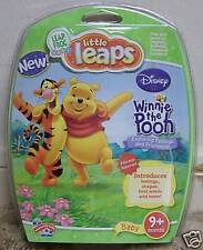 NIP Leap Frog Leapfrog LITTLE LEAPS Game WINNIE THE POOH