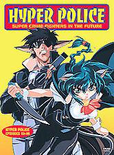 Hyper Police Vol.4 Episodes 13-16 DVD BRAND NEW OOP