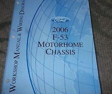 2006 ford f 53 f53 motorhome chassis service repair shop manual w wiring diagram