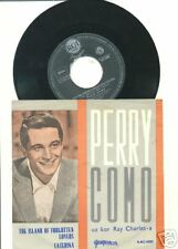 PERRY COMO-ISLAND OF FORGOTTEN LOVERS-DIFF.YUGO PS 1962