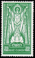 Ireland #96 MLH CV$90.00 1937 2sh6p BRIGHT GREEN St. Patrick
