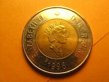 CANADA 1996 $2 COIN THE FIRST $2 CANADIAN COIN