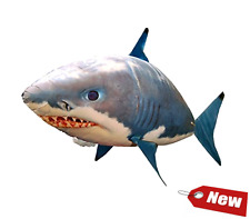 Air Swimmers RC Remote Control Flying Shark Toy Kids Inflatable Helium Float NEW