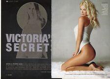 Z0 Clipping-Ritaglio 2006 Victoria Silvstedt Victoria's secrets