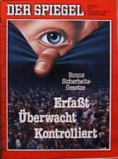 SPIEGEL 7/1986 Der Überwachungsstaat und der Abbau von Liberalität