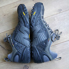 Smooth Black Merrell Intercept Hiking/Trail Shoes Men's US Size 10