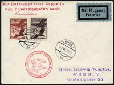 Zeppelin Österreich 1930 Südamerikafahrt Pernambuco Zuleitungspost Si 57/476