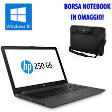 "PC COMPUTER NOTEBOOK PORTATILE 15,6"" HP QUAD CORE i5-7200 4GB 500GB WEBCAM HDMI"
