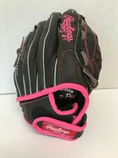 """Rawlings Youth Fast Pitch Softball Glove PINK NEW 10.5"""" Right Hand Throw"""