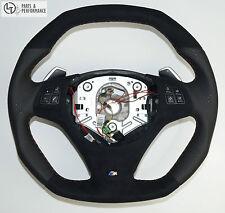 Le TEF ® volante de cuero para bmw m performance e81 e82 e84 e87 e90 e91 e92 e93 m3